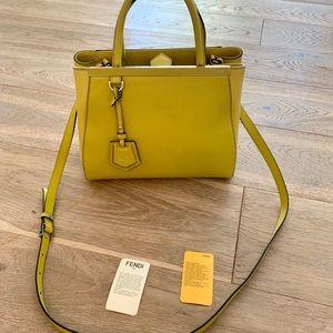 Fendi Bags - FINAL PRICE DROP Beautiful Lime colour Fendi 2Jour